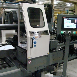 automatic cutoff lathes for tube and bar stock