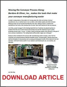 Conveyor article