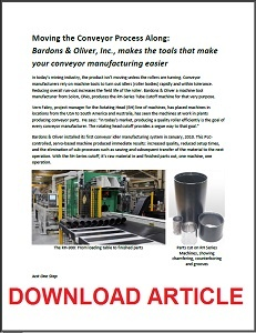 Conveyor article