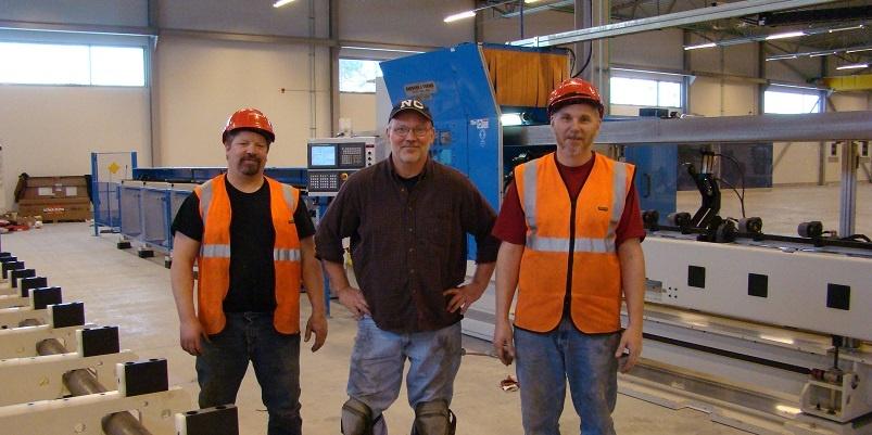 machine shop workers