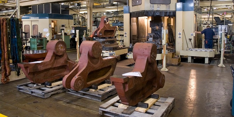 contract machining of large castings near Cleveland, OH