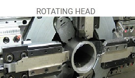 rotating head machines